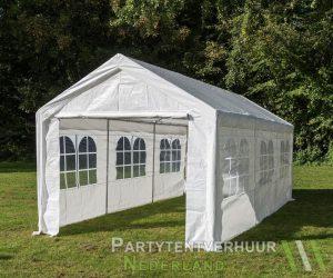 Partytent 3x6 meter zijkant huren - Partytentverhuur Gorinchem