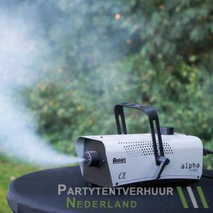Rookmachine actiefoto huren - Partytentverhuur Gorinchem