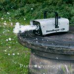 Sneeuwmachine actiefoto huren - Partytentverhuur Gorinchem