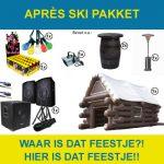 Huur het apres ski pakket in Gorinchem.