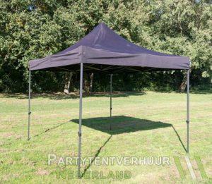 Easy up tent 3x3 meter schuin huren - Partytentverhuur Gorinchem