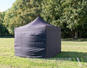 Easy up tent 3x3 meter voorkant huren - Partytentverhuur Gorinchem