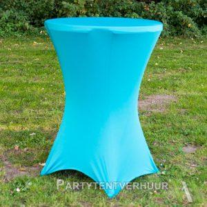 Statafel-met-rok-lichtblauw-huren-Partytentverhuur-Gorinchem