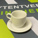 Koffie kop met schotel huren in Gorinchem