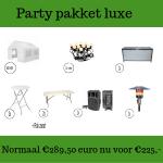 Party pakket luxe huren in Gorinchem