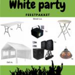 White Party feestpakket huren Gorinchem